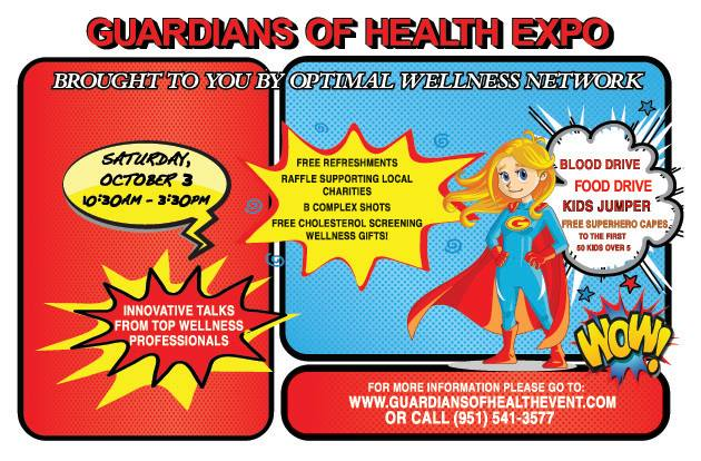 guardians of health expo event graphic